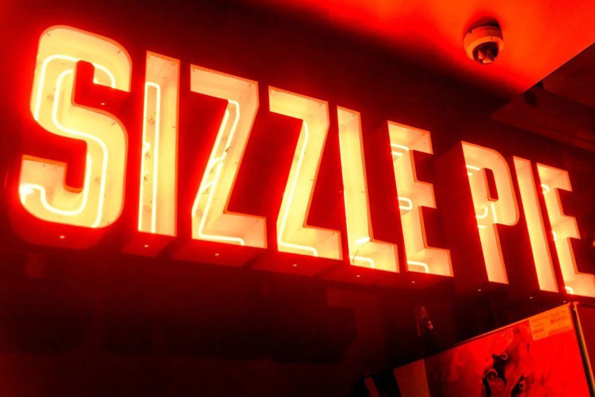 Sizzle Pie pizza opened on Center and Pine streets in downtown Reno. Photo by Mike Higdon