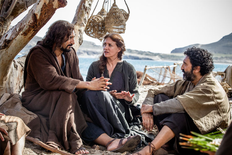 Image result for picture of sitting still at Jesus feet