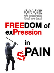 FREEDOM of exPression in sPAIN