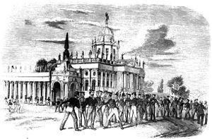 Soldatenaufstand in Potsdam 1848