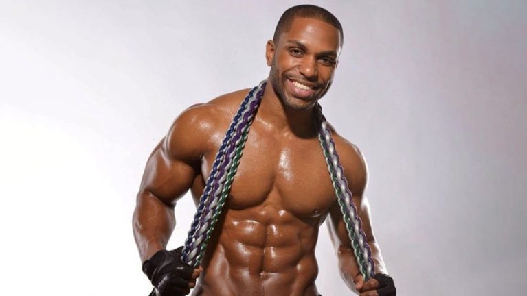 Yusuf Myers regular on the Dr. Oz Show on working out from home