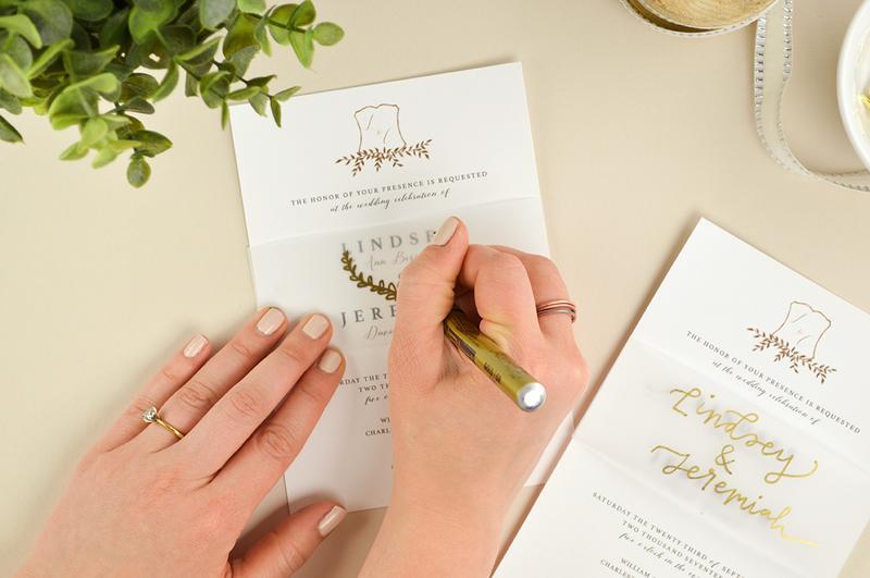 6 Contoh Desain Undangan Pernikahan Yang Unik Dan Menarik Intip Yuk