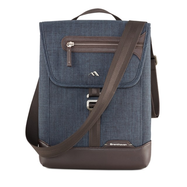 Brenthaven 13インチCollins Vertical Messenger Bag
