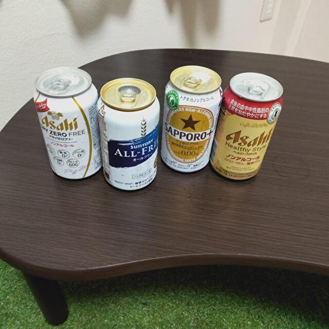 ノンアルコールビールNo.1決定戦 準決勝ラインナップ さあ、飲みますよ