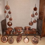 French Mauviel Copper Cookware Set Doyle Auction House