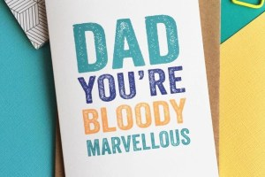Dad You're Bloody Marvellous - Father's Day at DYP