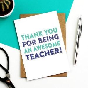 Top 5 teacher Gifts