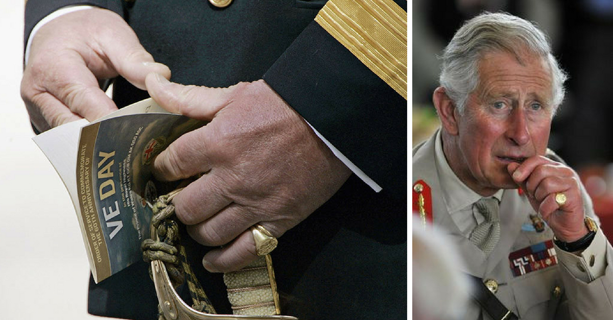 The Real Reason Prince Charles Always Wears A Pinky Ring