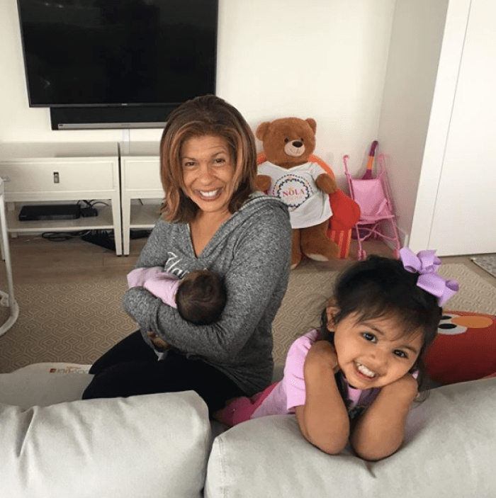 hoda kotb and her 2 daughters