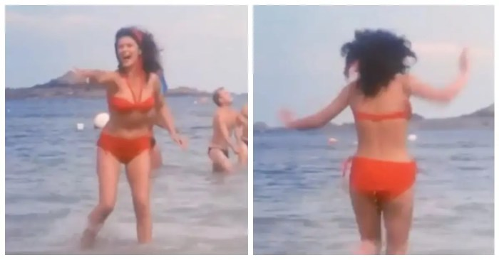 Catherine Zeta-Jones Shares Bikini-Clad Throwback Video From 'The Darling Buds Of May'