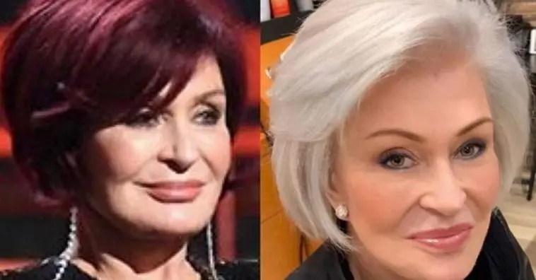 Sharon Osbourne Trades In Signature Red Hair For Platinum