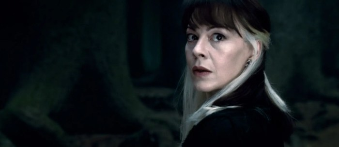 HARRY POTTER AND THE DEATHLY HALLOWS: PART 2, Helen McCrory, 2011