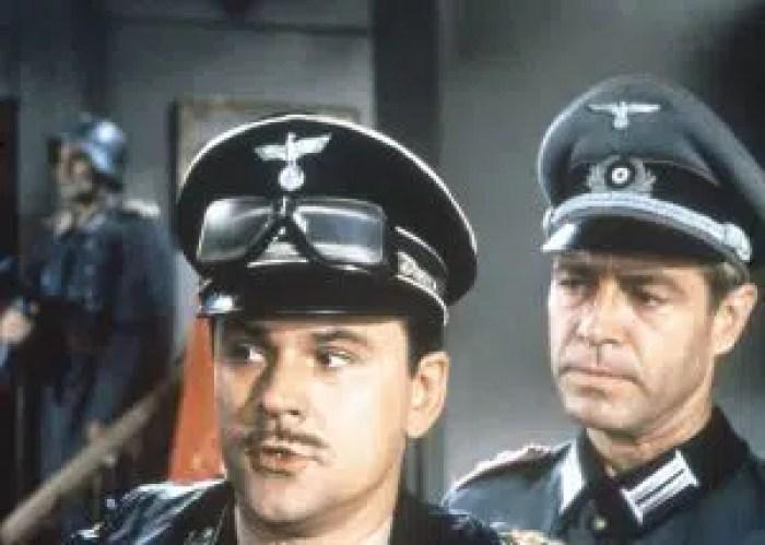 HOGAN'S HEROES, (from left): Bob Crane