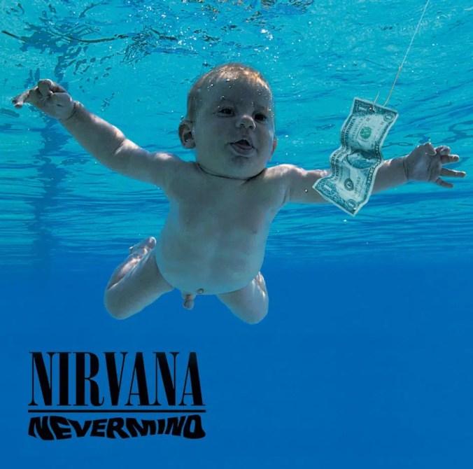 nevermind album cover nirvana