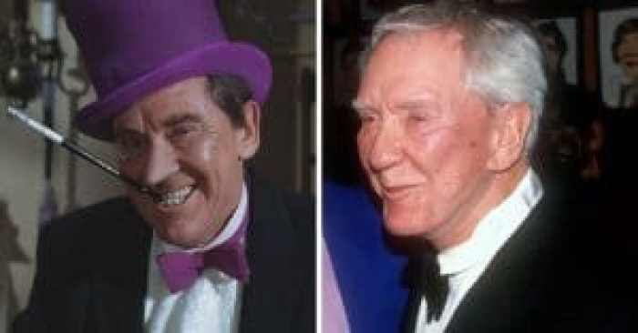 Burgess Meredith in the cast of Batman and after