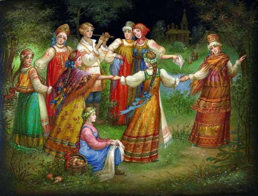 Резултат слика за словенски богови, слике руских аутора