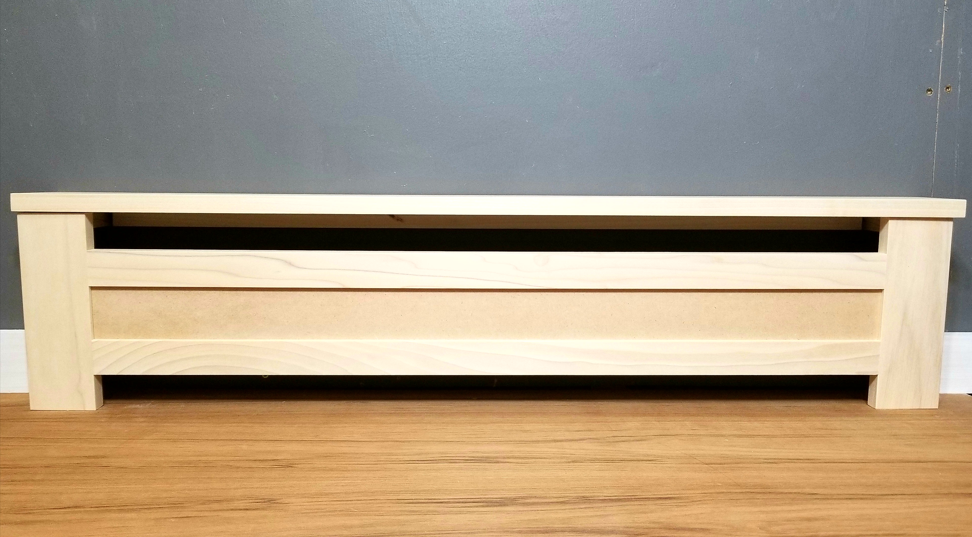 Shaker Baseboard Heater Cover