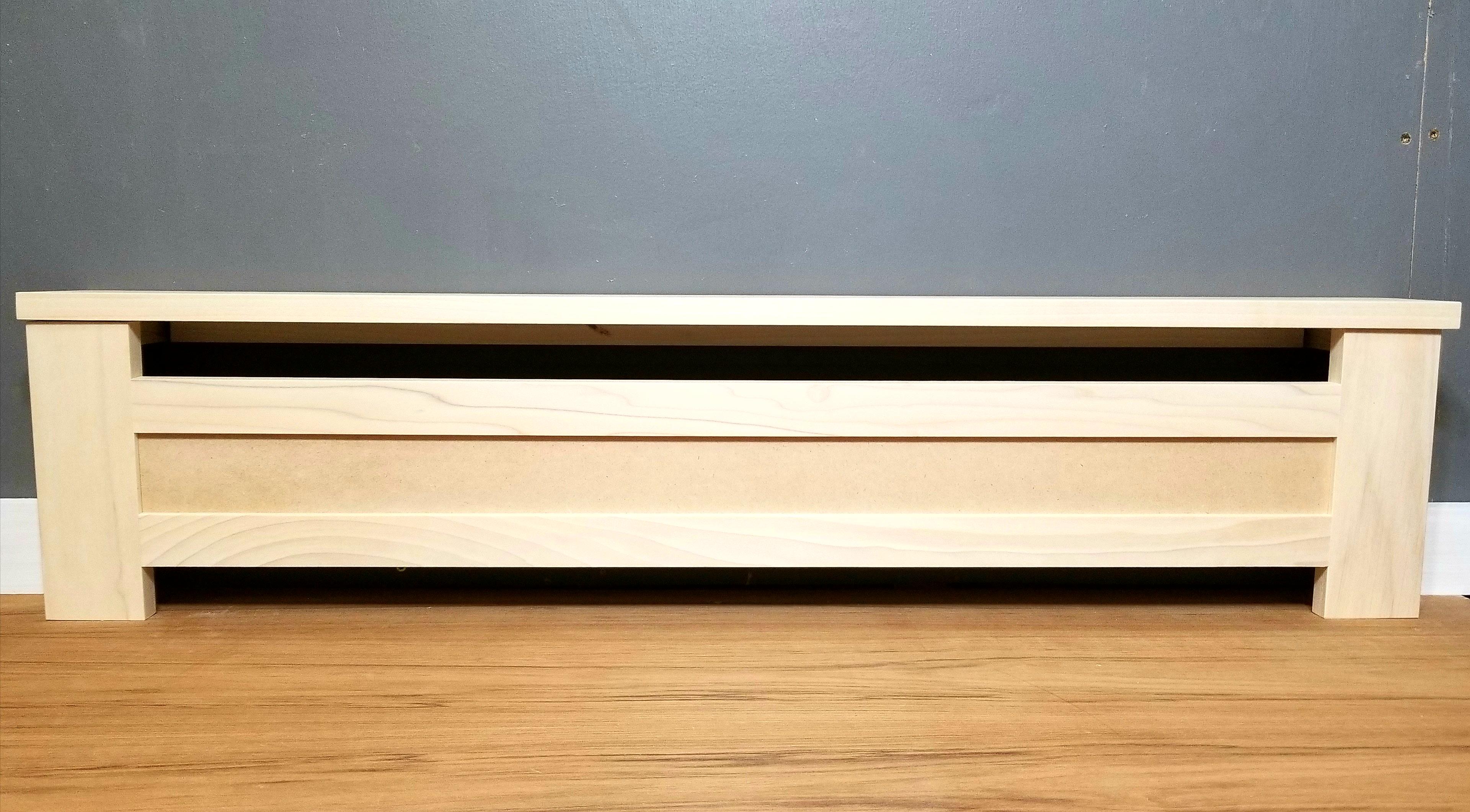 Shaker Baseboard Heater Cover