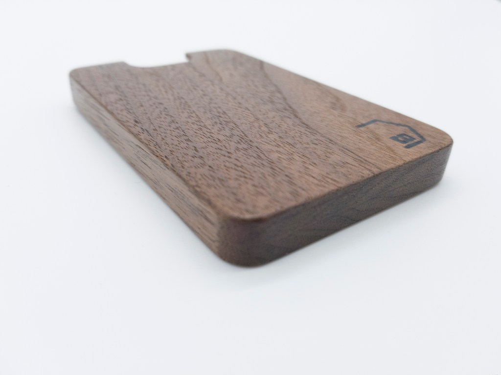 Elite Walnut Wooden Wallet