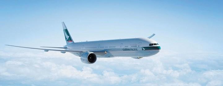 Voor de beste service en de laagste prijzen koopt u uw vliegtickets Filipijnen bij DP Reizen! Op de foto de nieuwe Boeing 777 van Cathay Pacific (ingezet op het traject Amsterdam - Hong Kong vanaf 01-11-2014), de preferred carrier van DP Reizen.
