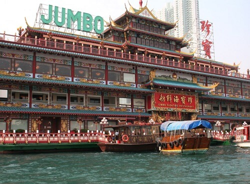 Jumbo Floating Restaurant - Aberdeen, Hong Kong, S.A.R. China