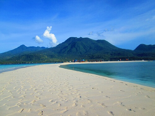 White Island - Camiguin, Northern Mindanao, Filipijnen