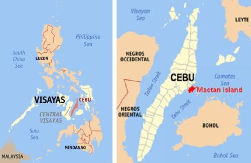 Locatie Strandvakantie Cebu (Mactan Island) - Central Visayas, Filipijnen