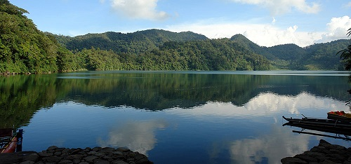 Lake Balinsasayao - Negros Oriental, Central Visayas, Filipijnen