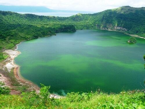 Kratermeer van de Taal Vulkaan - Luzon, Filipijnen