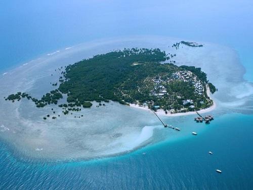 Dos Palmas Island in de Honda Bay - Puerto Princesa, Palawan, Filipijnen