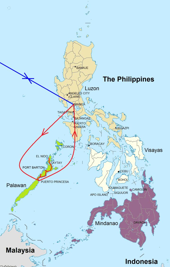 Rondreis Palawan Budgettour