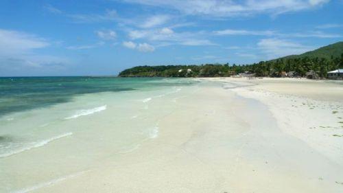 Strand - Siquijor, Central Visayas, Filipijnen