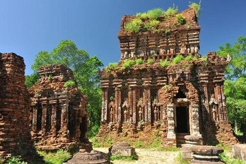 Cham ruïnes - My Son, nabij Hoi An - Midden Vietnam