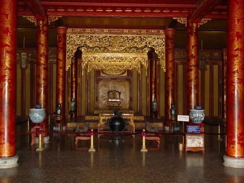 Thai Hoa Palace - Keizerlijke Stad, Hue, Vietnam