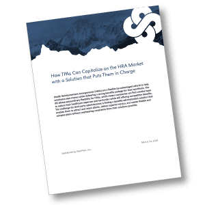 """DataPath Whitepaper """"How TPAs Can Capitalize on the HRA Market with a Solution that Puts Them in Charge"""" analyzes TPA concerns about complex HRAs and solution capabilities."""
