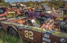 Abandonded-Race-Cars