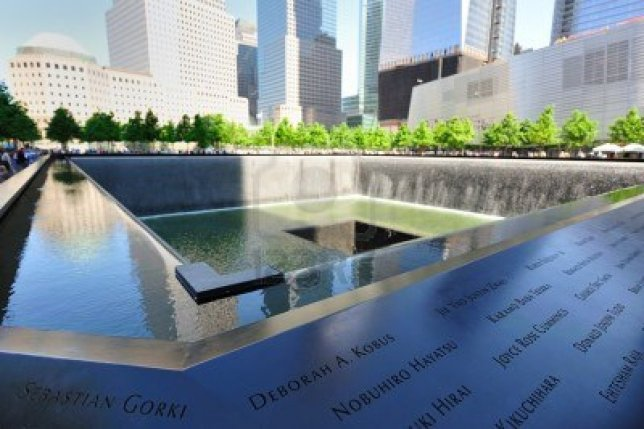 One of the Twin Pools at the WTC Memorial