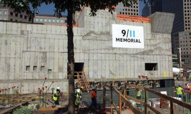 9/11 Memorial in Construction