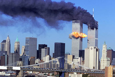 The heart breaking attack on the Twin Towers