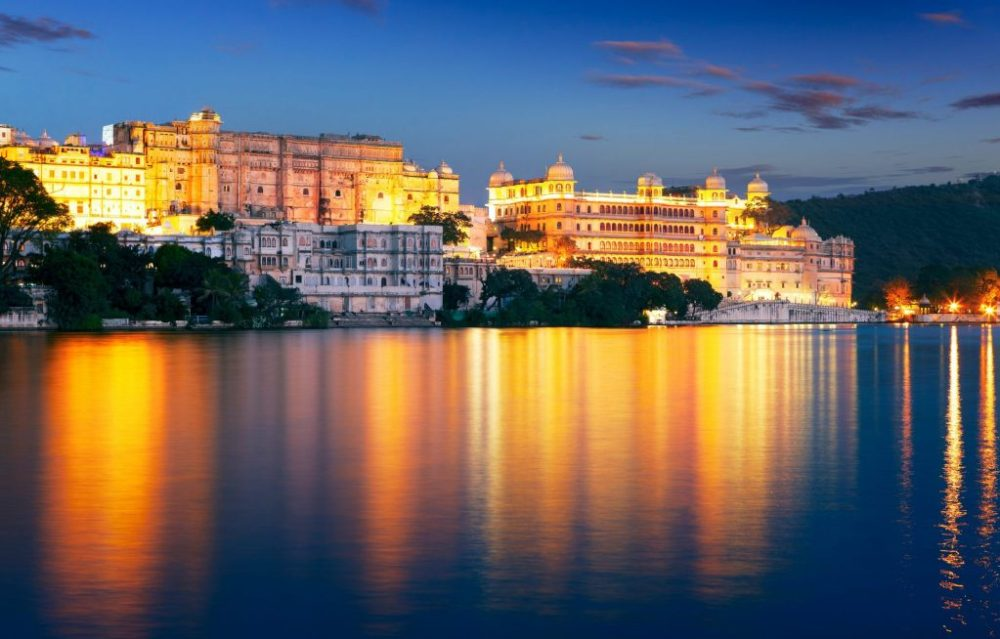 beautiful palaces of Udaipur