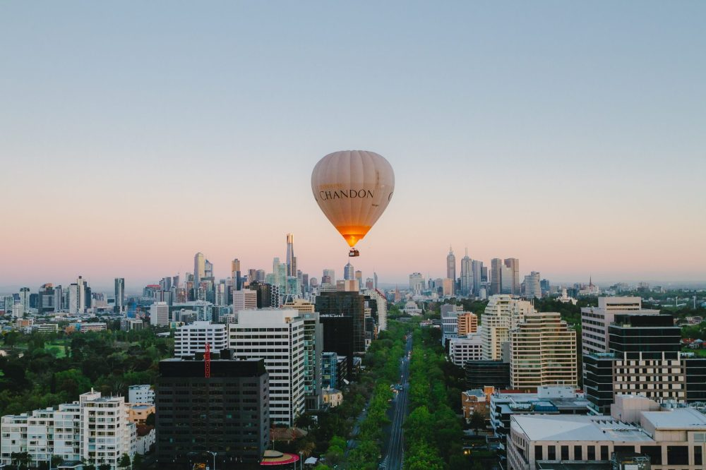 Hot-Air-Ballooning, Melbourne