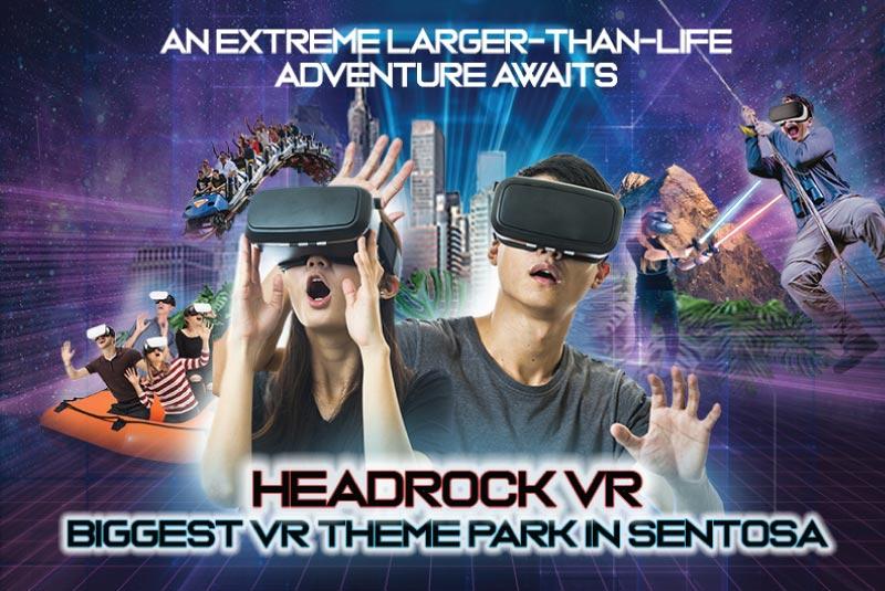 Head Rock VR Sinagpore