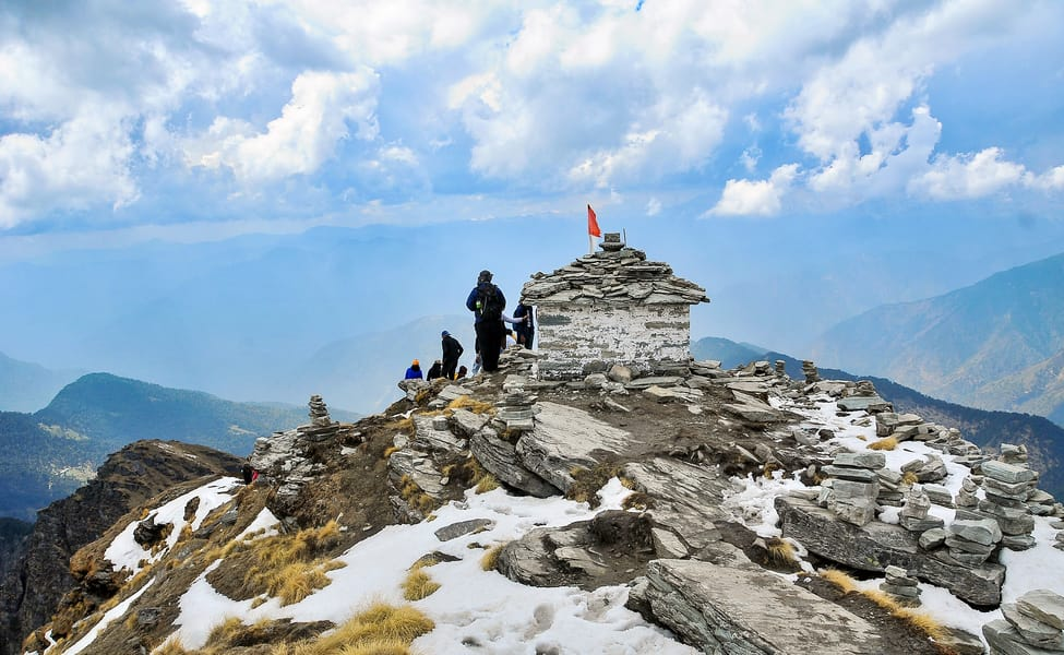 Chopta, Uttarakhand India in winters