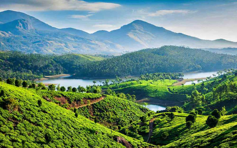 Munnar Kerala winters in India