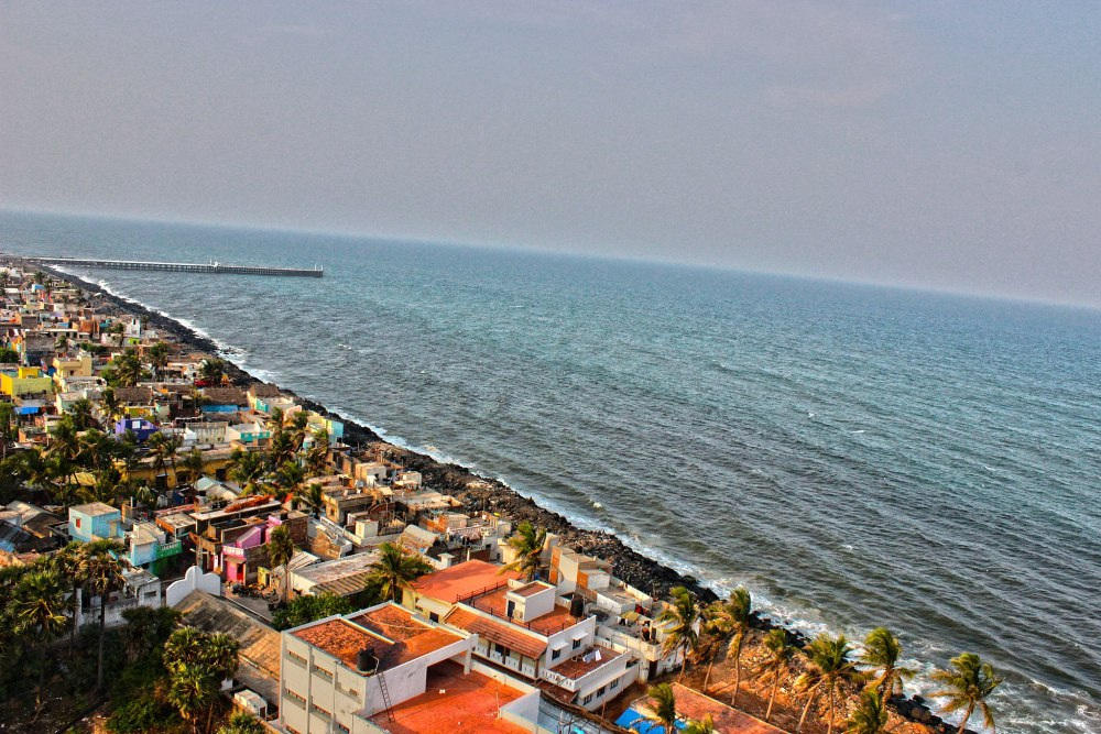 Pondicherry Beach Destination
