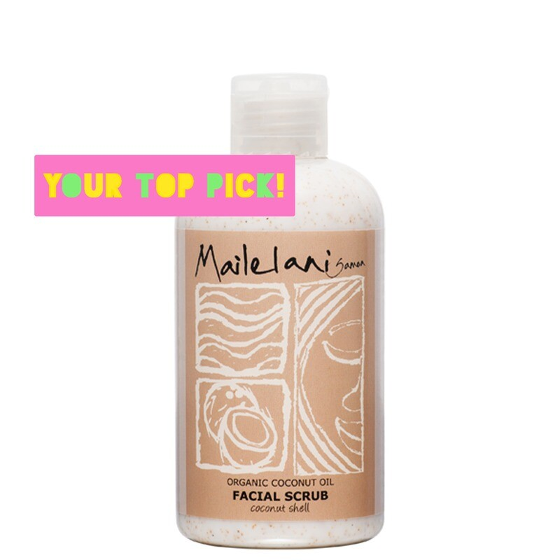 Gentle Face Scrub (coconut shell) 160ml