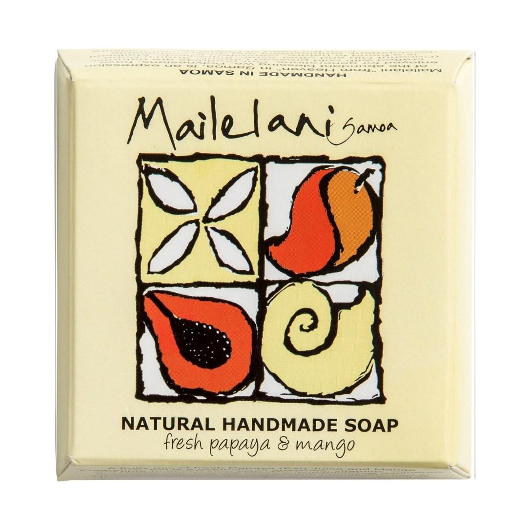 Fresh Papaya & Mango Natural Hand Made Soap 110gm / 3.9 oz
