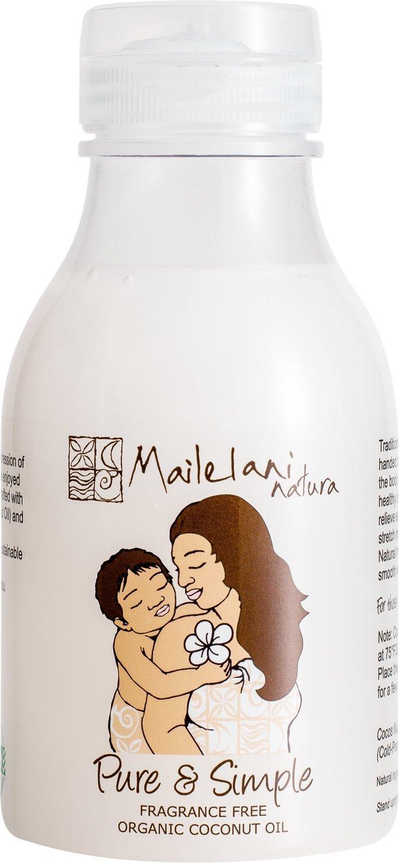 END OF STOCK OIL - Pure & Simple (Fragrance Free) Organic Coconut Body Oil 300ml / 10.14 fl oz