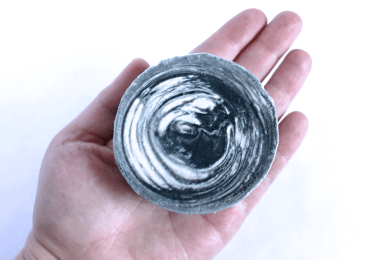 CHARCOAL & SEAWEED natural fragrance free superfatted soap