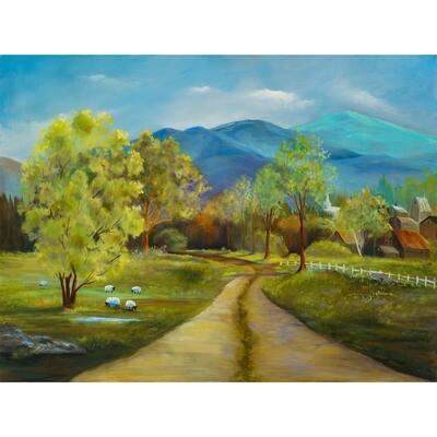 Lois Haskell  -- Spring Farm
